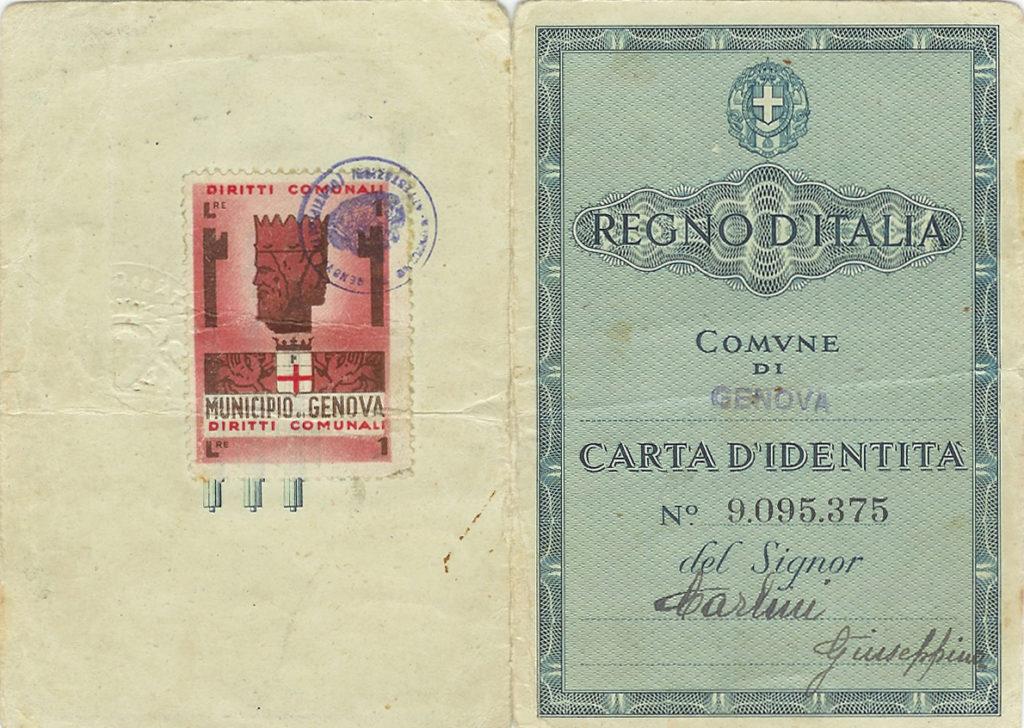 Carta Identità Genova