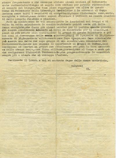 22/6/1944: lettera di GI