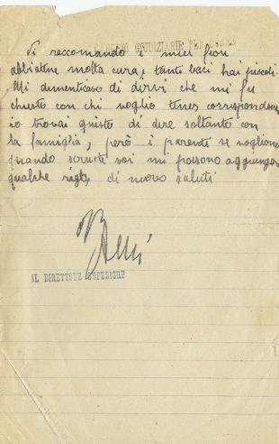 29/5/1935 - carcere di Roma