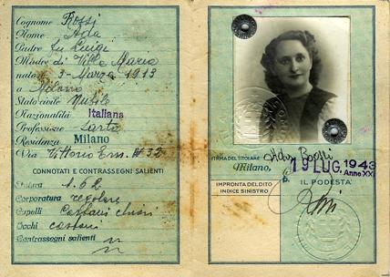 Carta d'identità falsa
