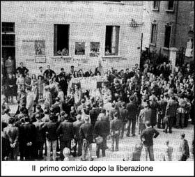 Il primo comizio nella Cusano Milanino liberata