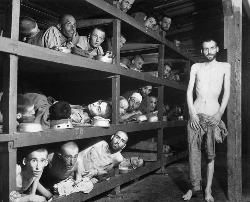 lavoratori a buchenwald
